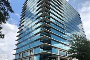 Commercial building property maintenance