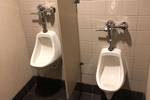 Commercial building plumbing services